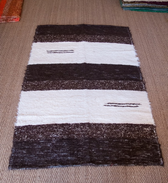 Tapis beige champagne Stripes